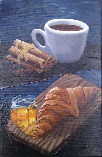 Картина «Утренний заряд»