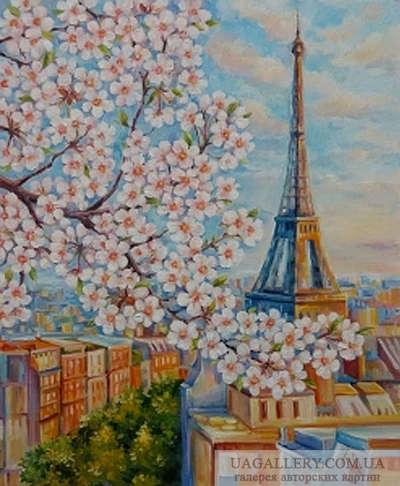 Картина «Весна в Париже»