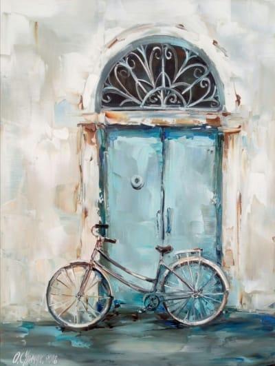 Картина «Велосипед» 2