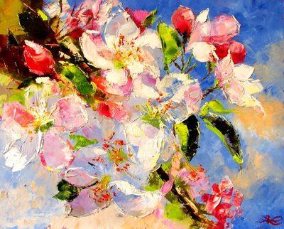 Картина «Весна цветущая»
