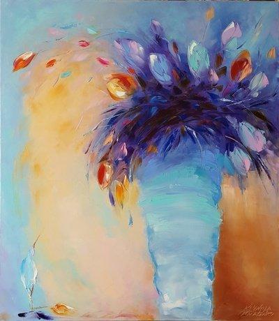 Картина «Волшебные тюльпаны»