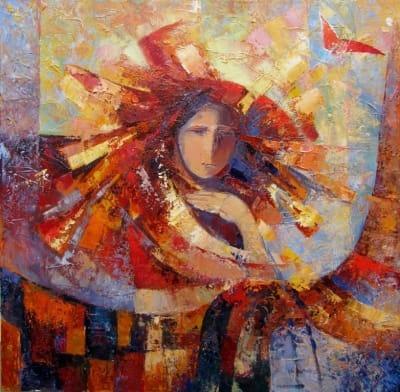 Картина «Встреча солнца»