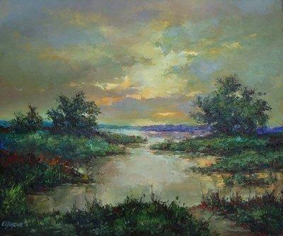 Картина «Закат» 2