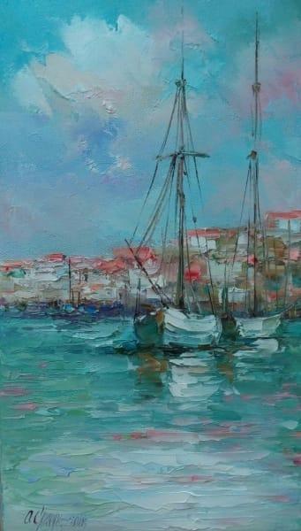 Картина «Яхты» 3