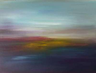 Картина «Краски заката»