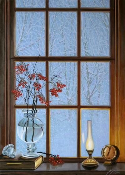 Картина «Зимний вечер»