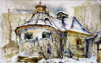 Картина «Зимой»
