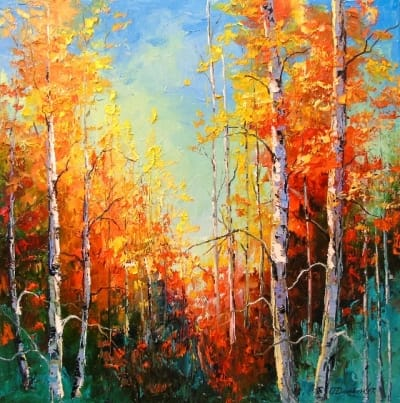 Картина «Золотая осень»