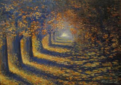Картина «Золото осени»